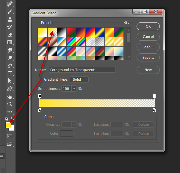 Solved Missing Background To Transparent Gradient In Gra