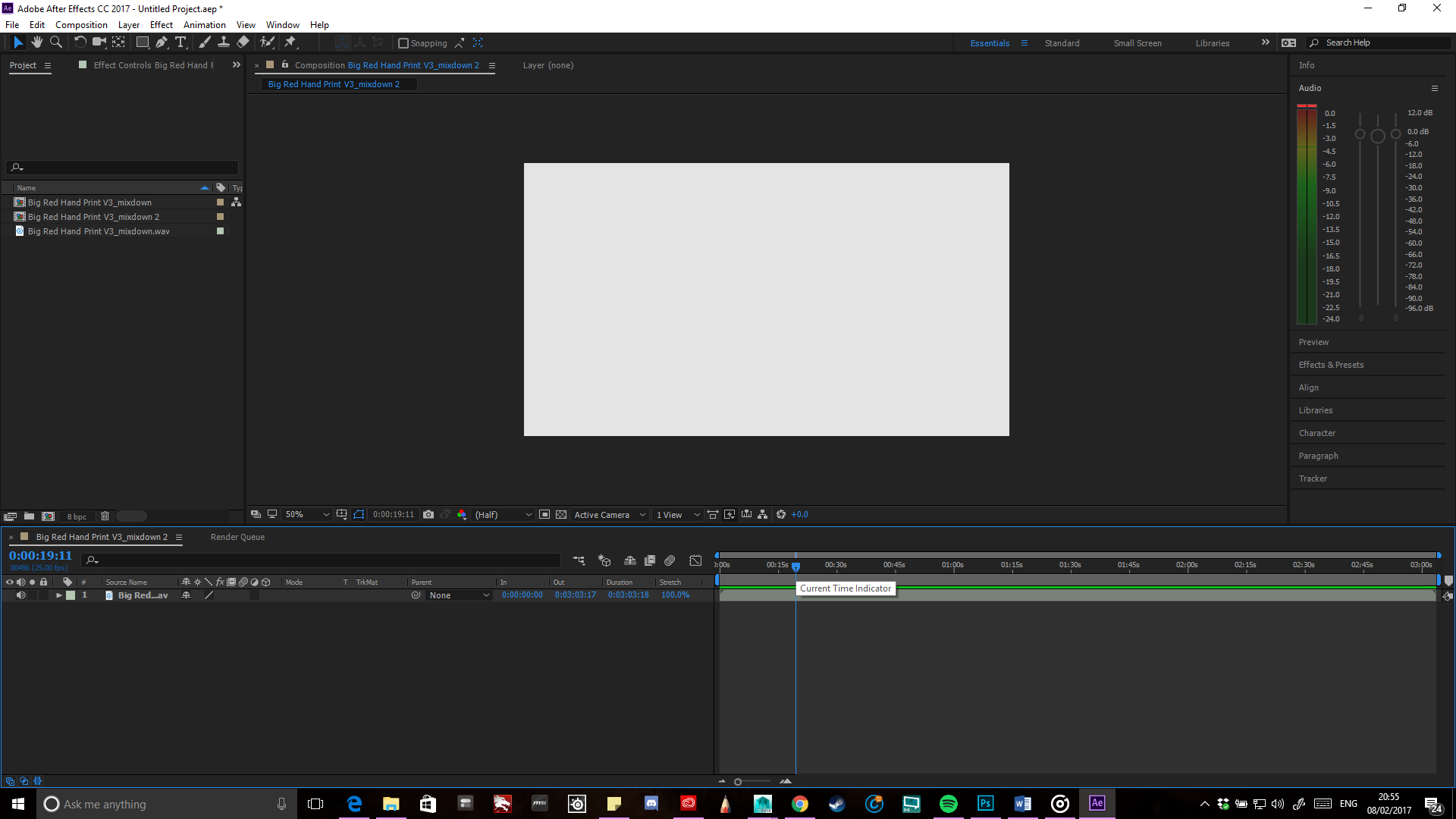 Solved No Audio On Adobe After Effects Cc 2017 Playback O Adobe Support Community 8873709