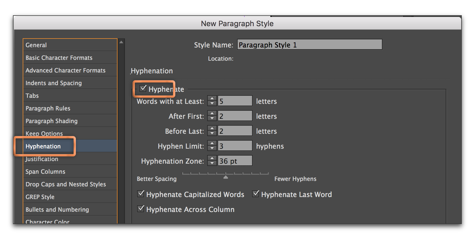 Solved How To Prevent Hyphenated Words Adobe Support
