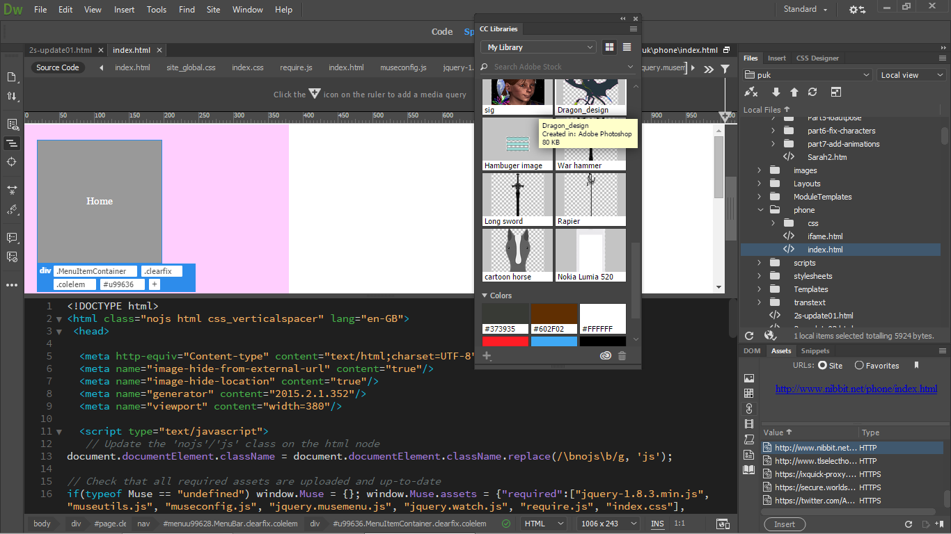 Solved Dreamweaver Cs6 Supports Windows 8 10 Adobe