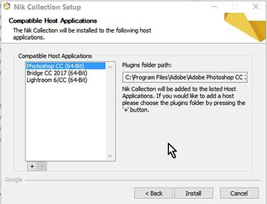 Cena eslogan Sacrificio  Solved: LR cannot see NIK collection plugin - Adobe Support Community -  8990588