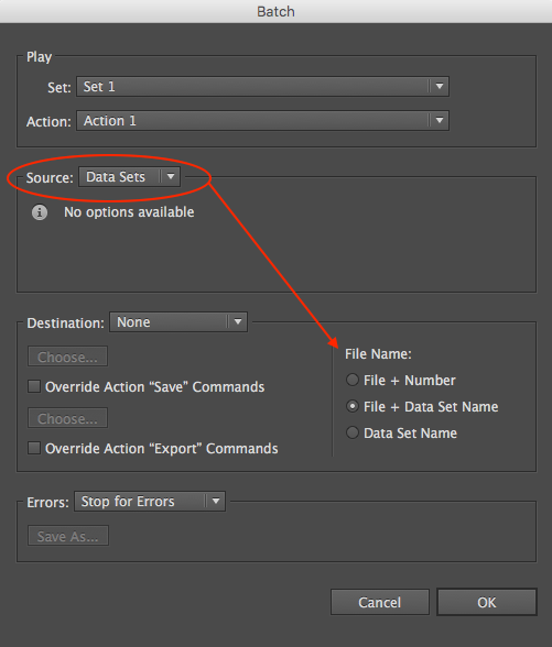 Solved: Photoshop Variables - How do you Name Files from a