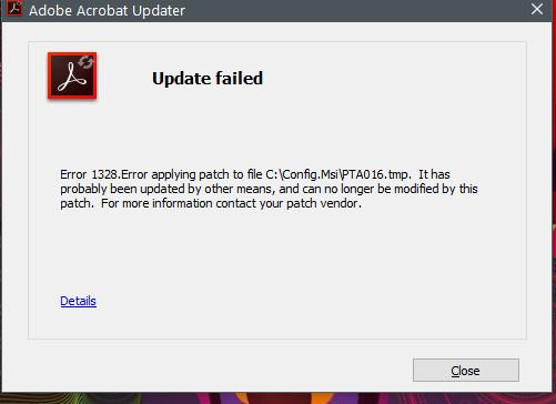 Install All Updates Or Just The Latest Adobe Support Community