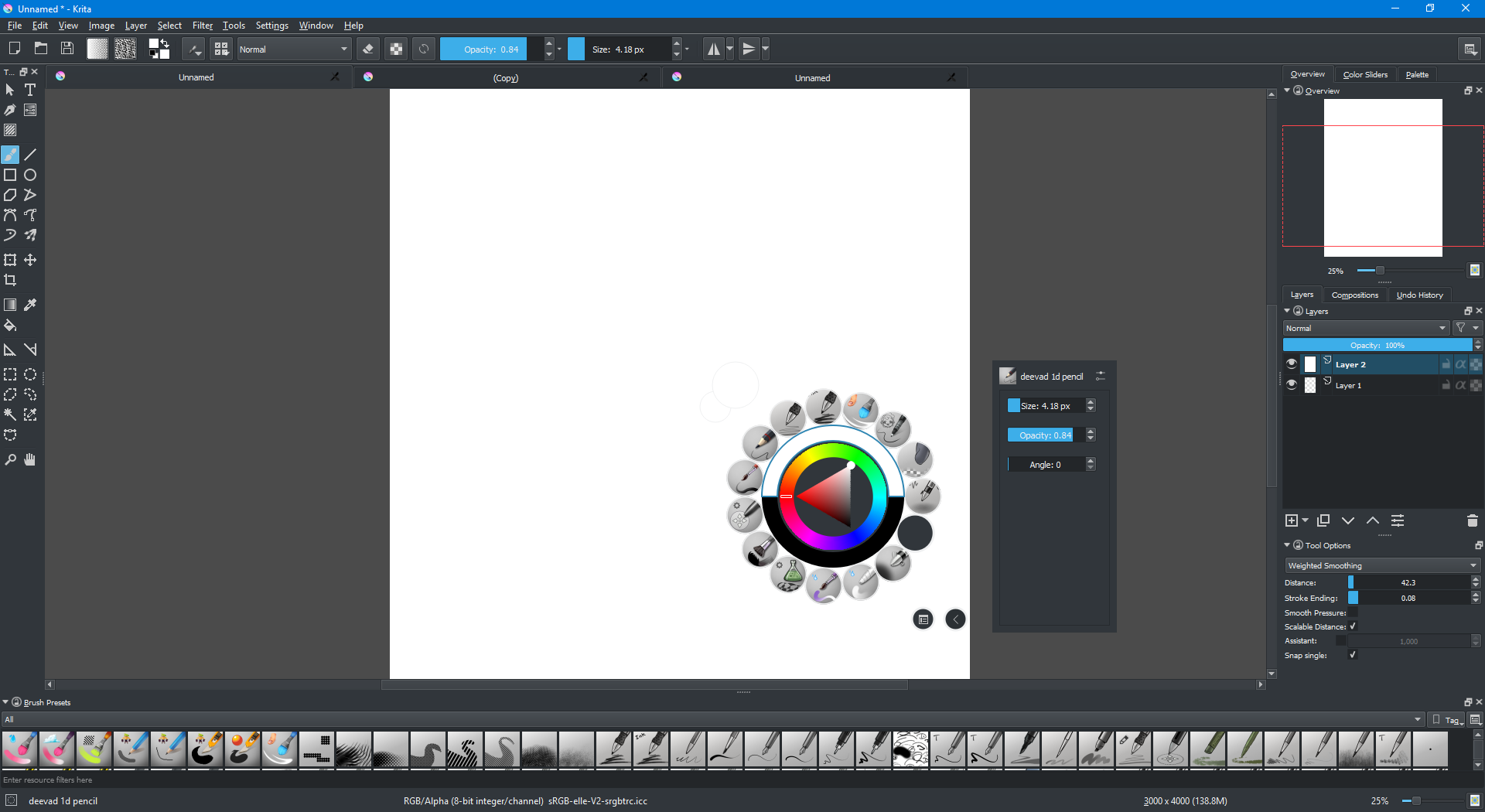 how to make Photoshop like Krita? - Adobe Support Community