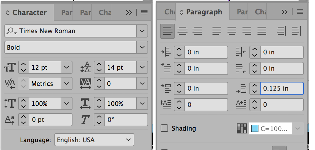 Image result for text spacing in InDesign