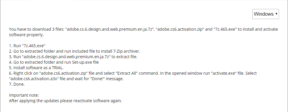 Solved Adobe Cs6 Design Web Premium Installation Issues Adobe Support Community 9261774
