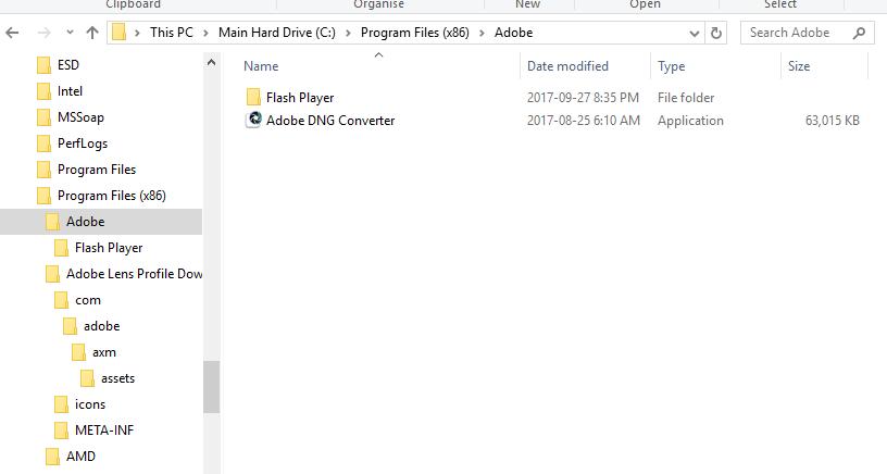 Lens profile downloader