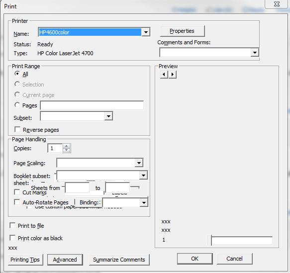 Solved: Acrobat shows blank PDF in Print Preview - Adobe