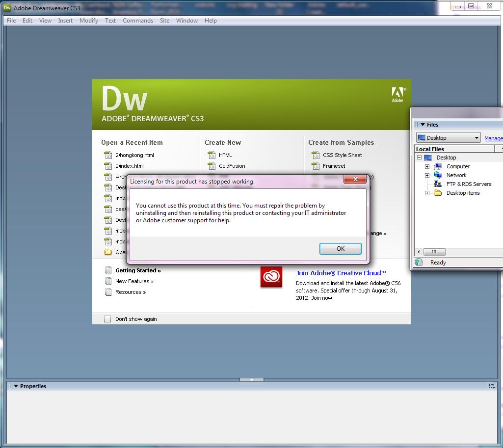 Adobe Creative Suite 3 Design Premium License