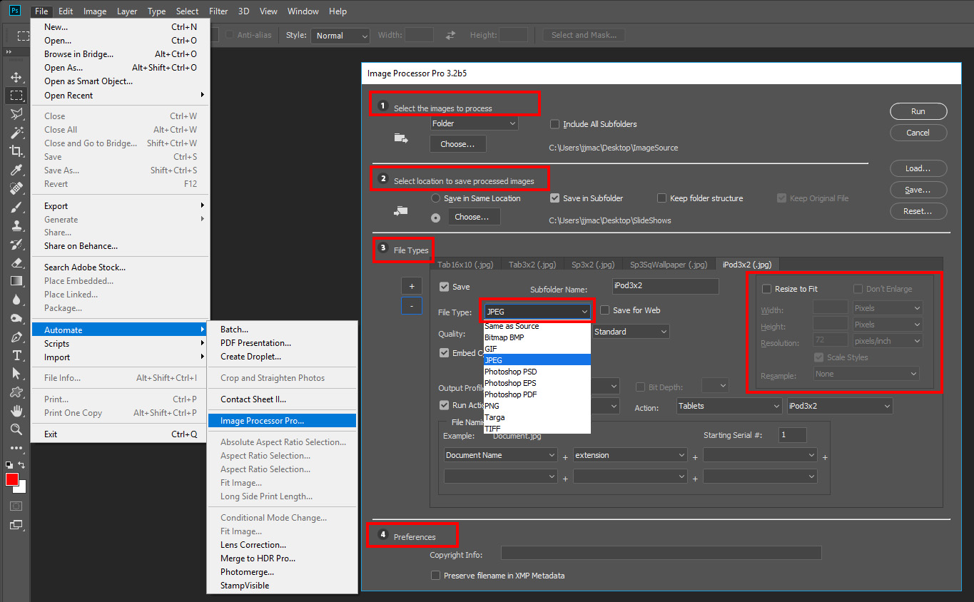 Solved: hassle with photoshop batch process - Adobe Support Community -  9724926