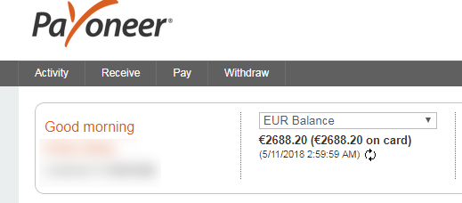 Solved Payoneer As One Of The Payment Options Adobe Support Community 9833032