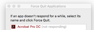 Adobe Acrobat Reader Dc For Mac Not Responding Can%27t Force Quit