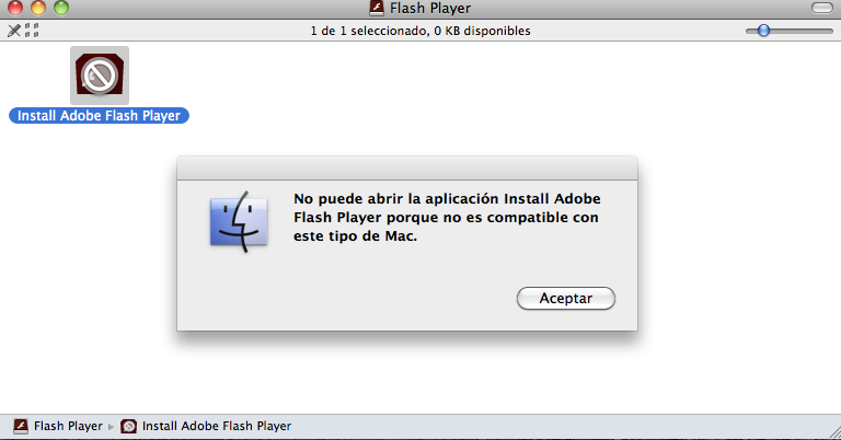 10.6.8 POUR OS X TÉLÉCHARGER FLASH MAC PLAYER