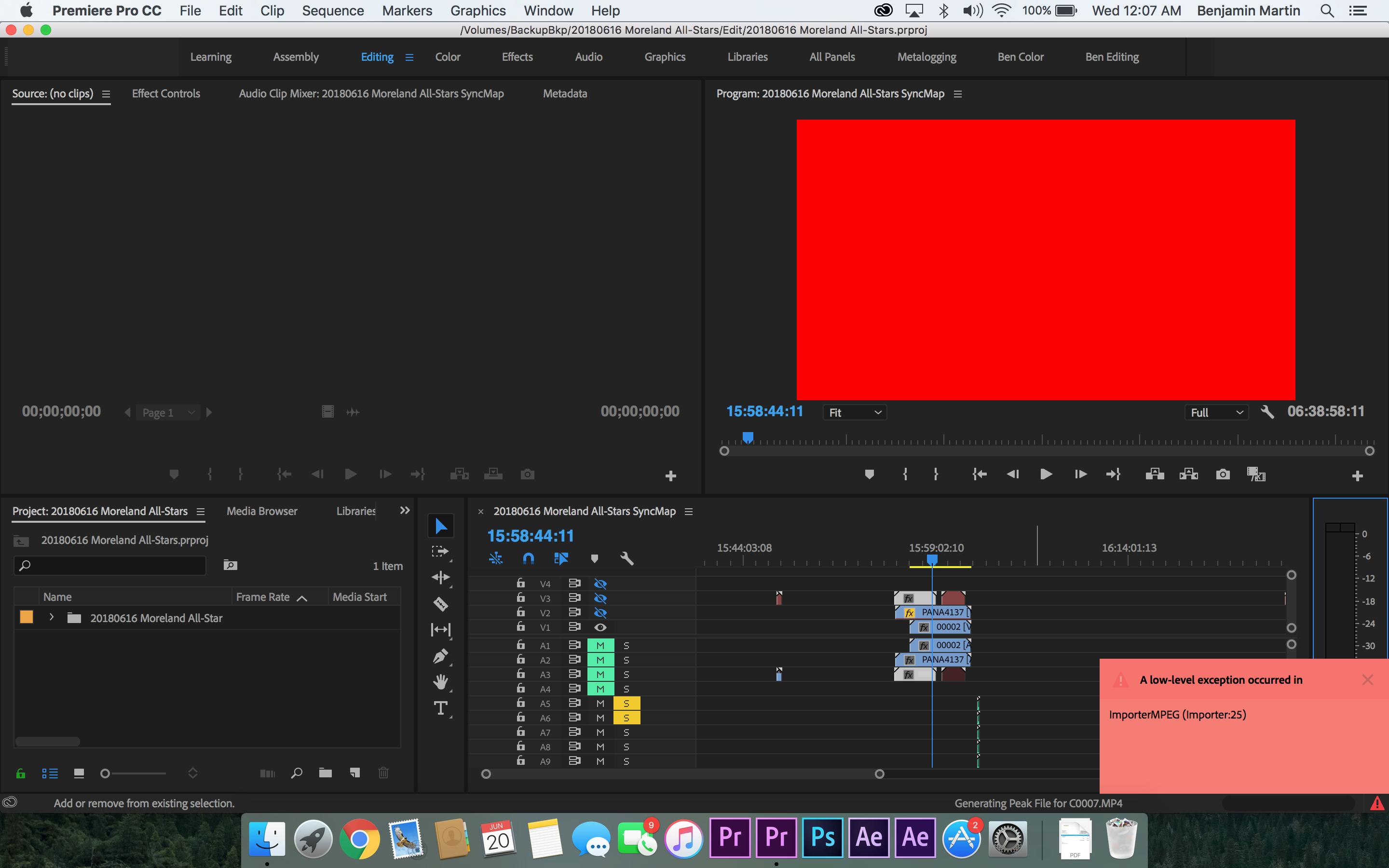 Premiere Pro red screen/glitch ver 12 1 1 - Adobe Support