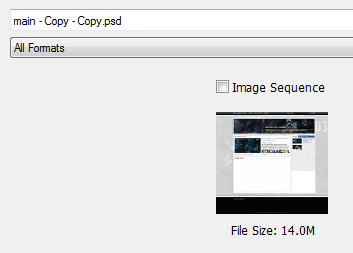 Restoring a corrupted PSD file - Adobe Support Community