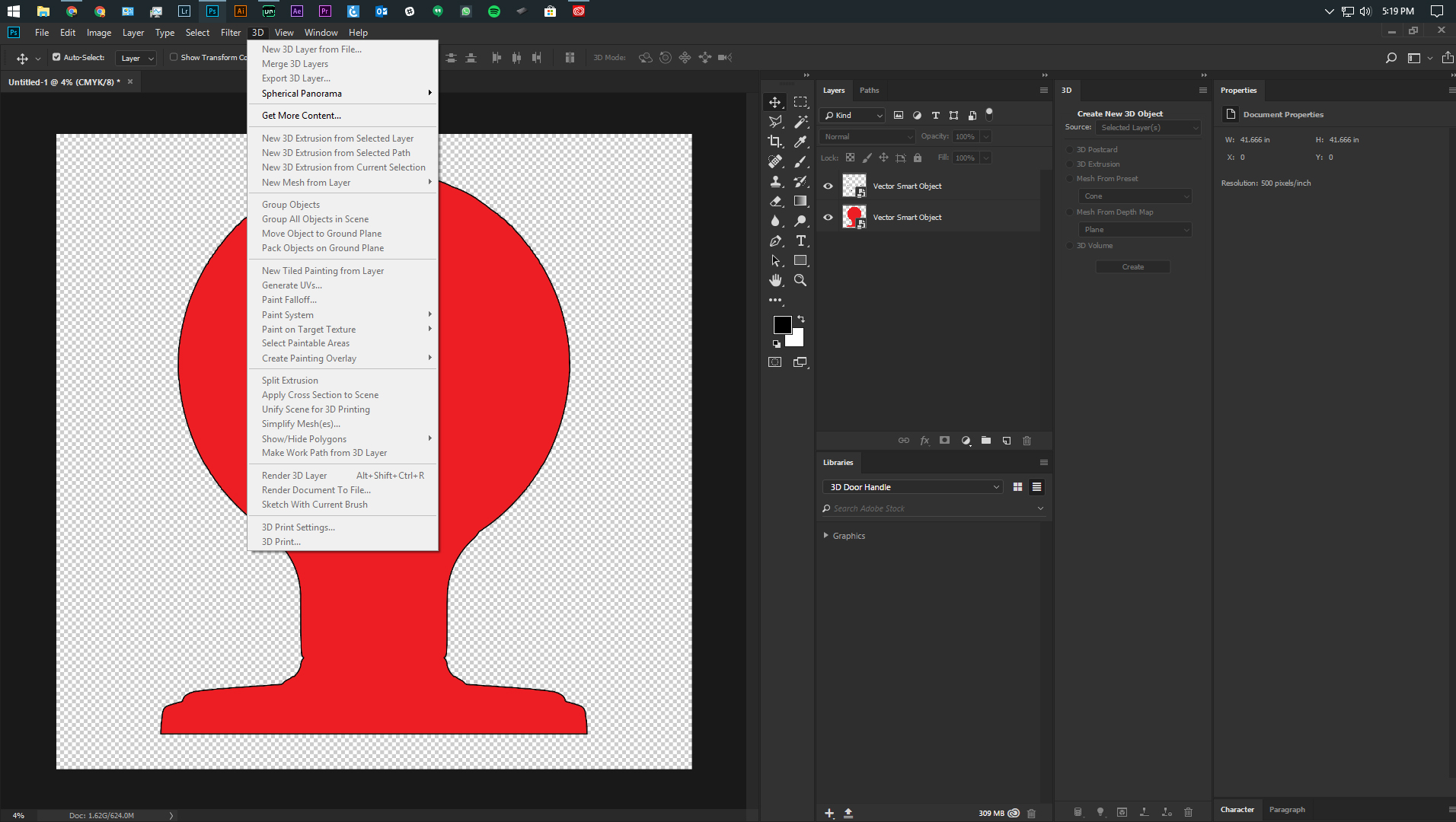 Solved: Photoshop 3D options grayed out!! - Adobe Support Community -  9971821