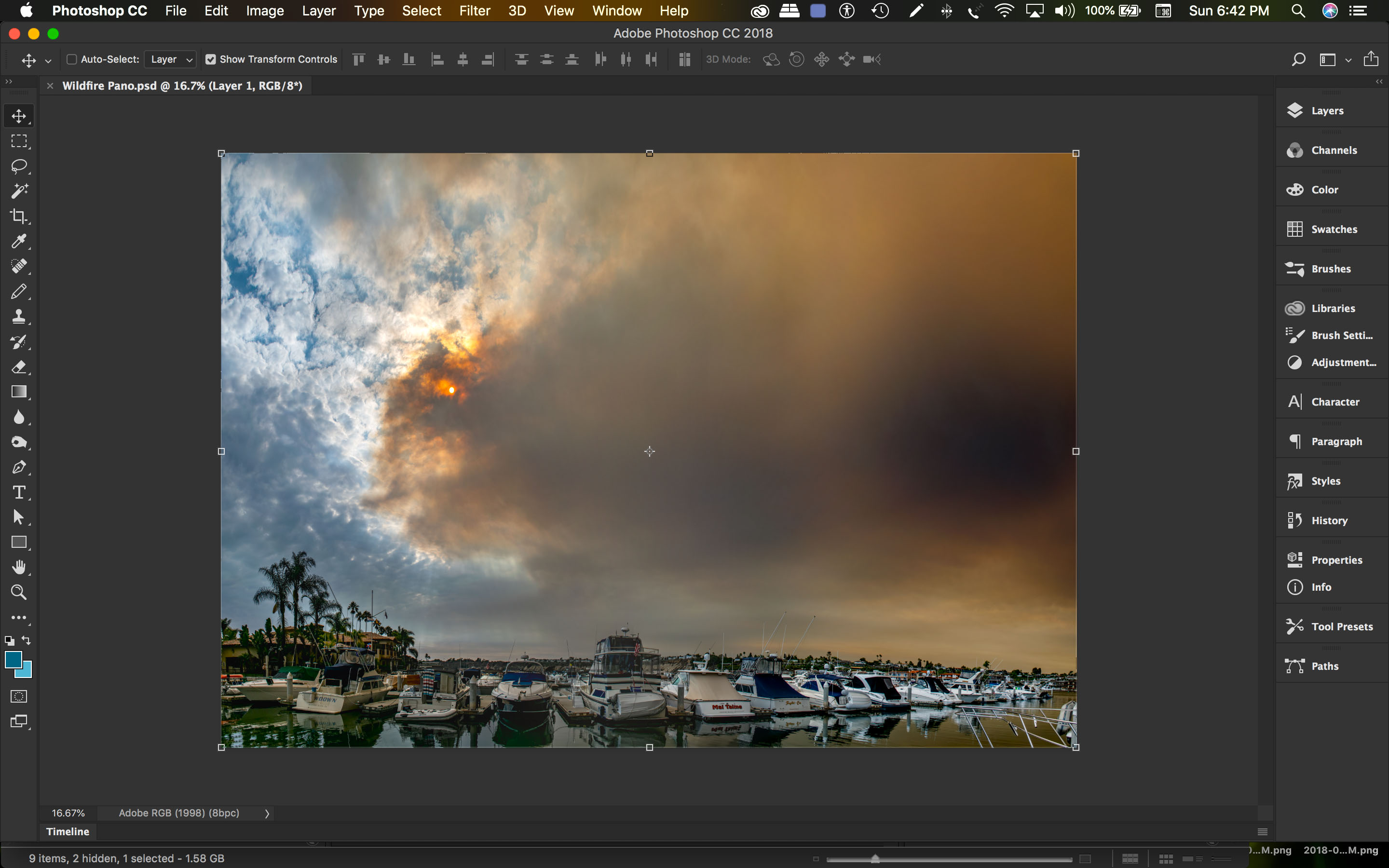 Wildfire_Pano Created_in_PS_fm_Indiv_Files.jpg