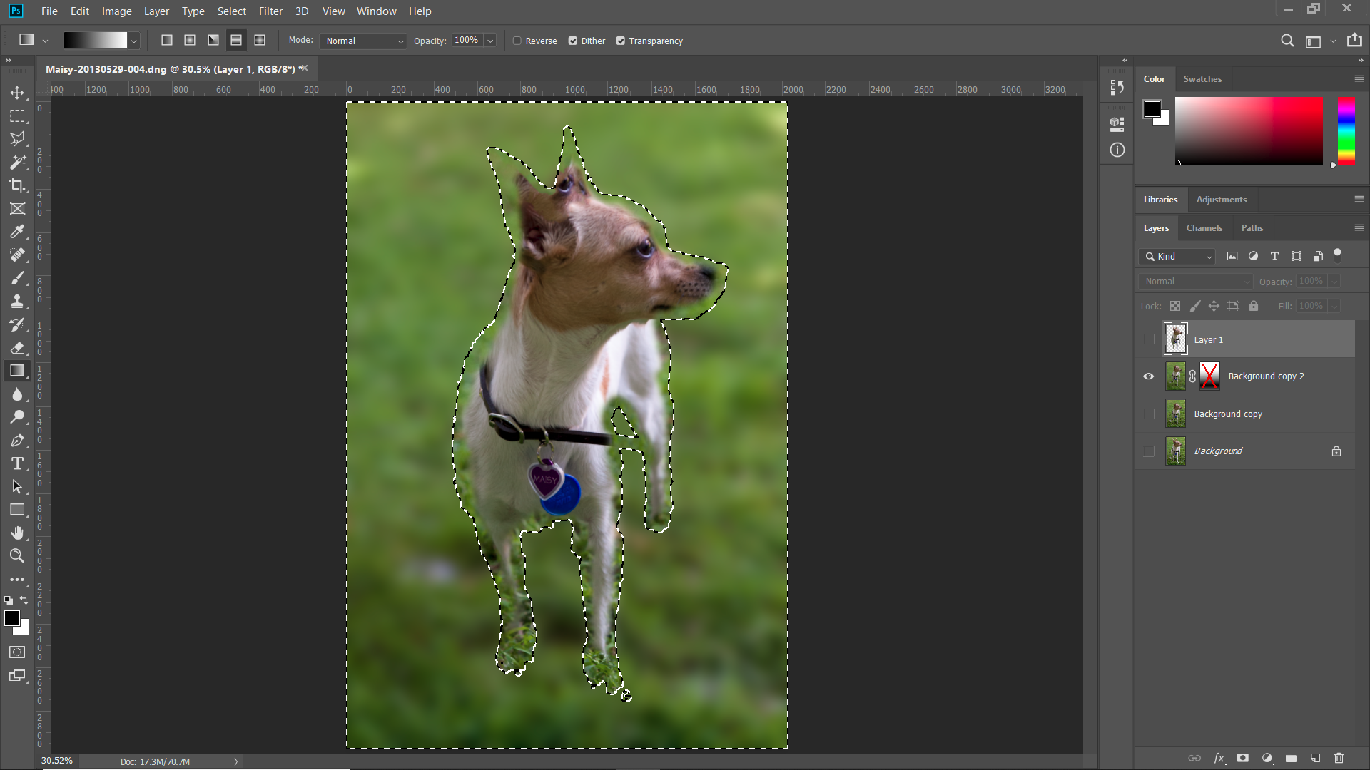 Solved: lens blur not working for background - Adobe Support