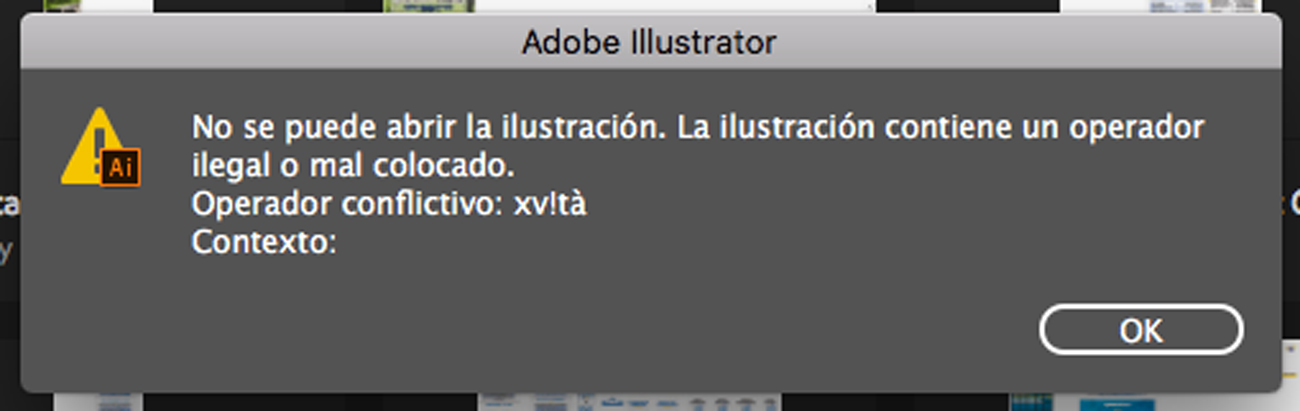 Solved Re Problema Al Abrir Archivo Ai Adobe Support Community 10213646