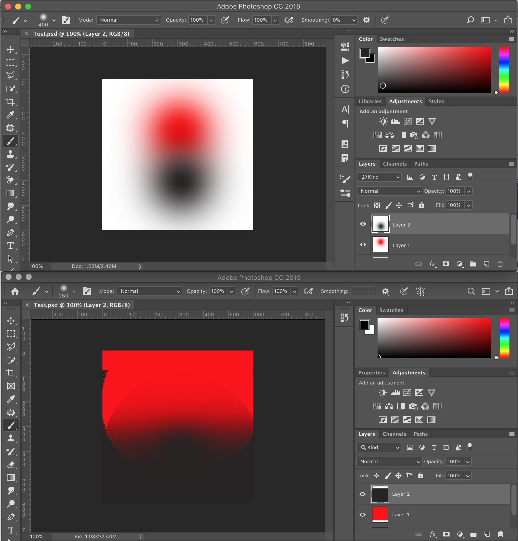 Photoshop Cc 2019 Transparency Bug Adobe Support Community