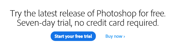 photoshop free trial without credit card