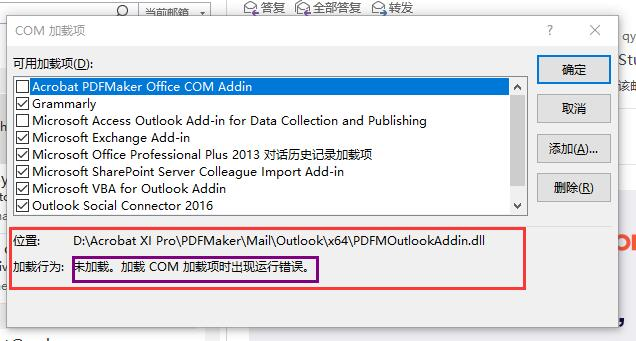 Solved The Acrobat Xi Pdfmaker Add On Cannot Be Loaded On Adobe Support Community 10580598