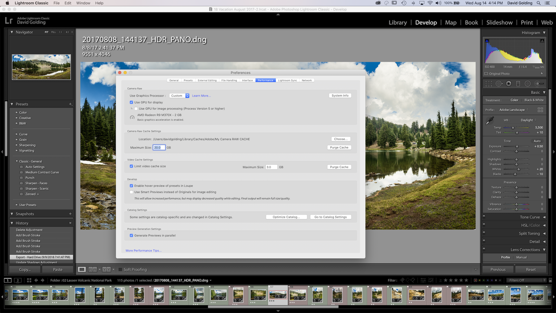 Cana you download lightroom on a 2012 macbook pro 15