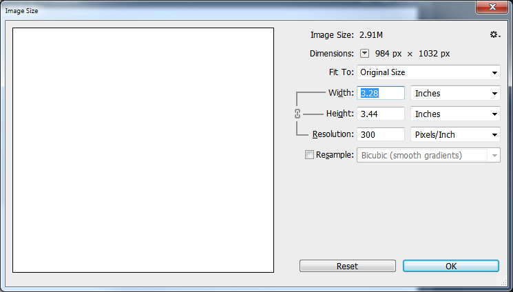 Solved How To Change Default Resolution Of Imported Photo Adobe Support Community 6001922