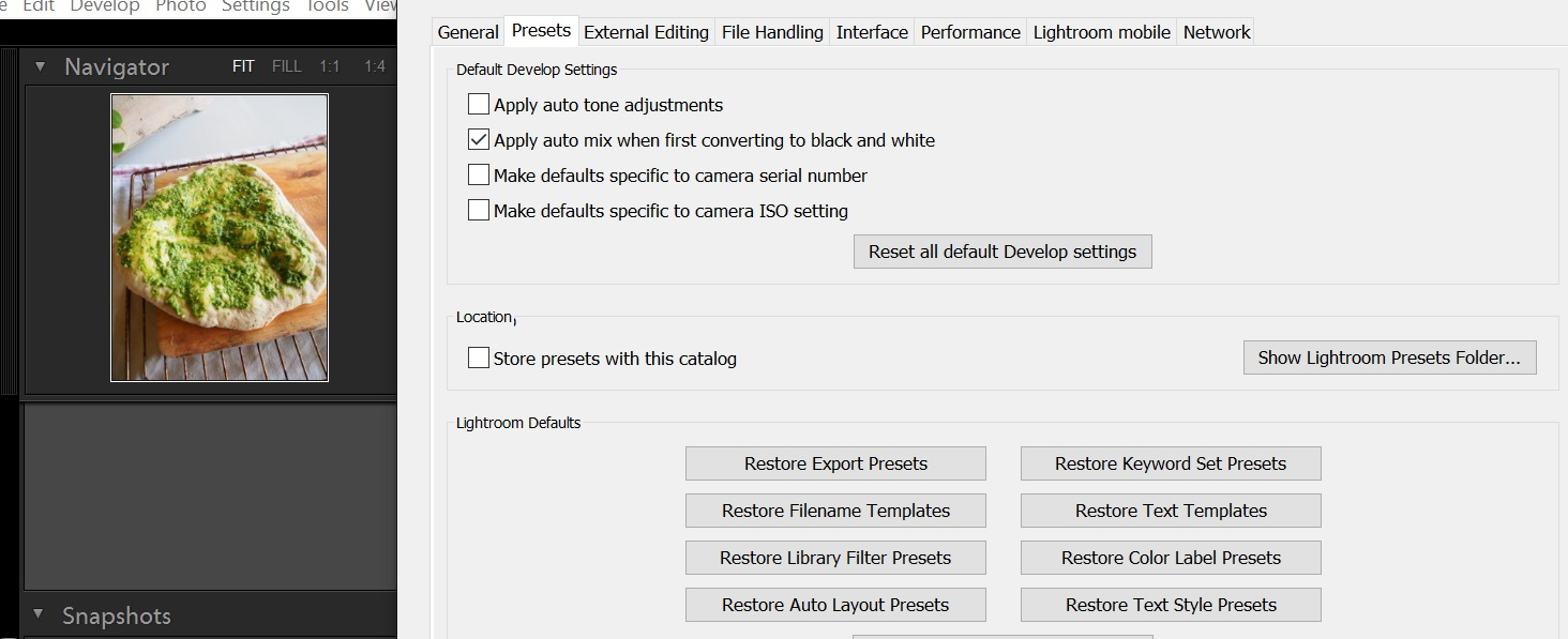 Lightroom presets disappeared   Adobe Support Community   20