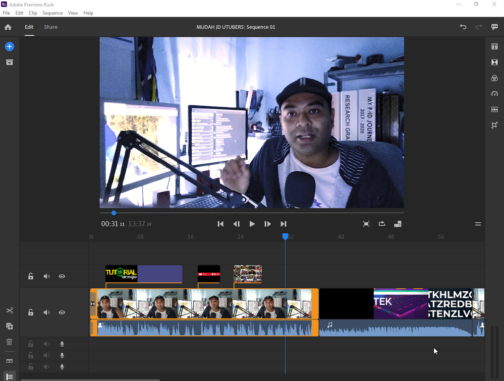 no issue for video editing.