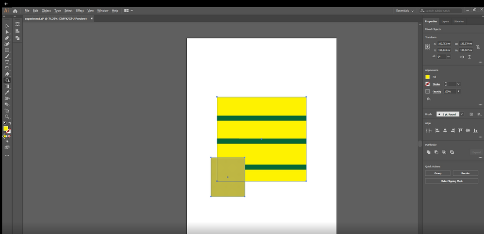 shape builder did not detect my shape