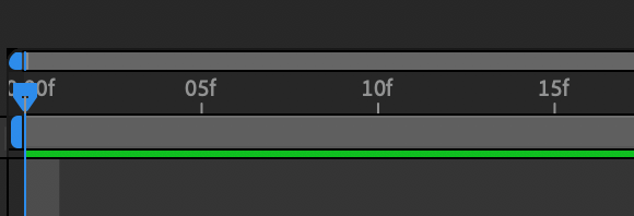 I want this to change to seconds instead of frames