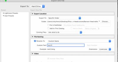 export details