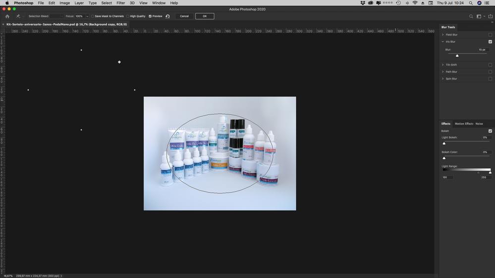 iris blur problem. Help!