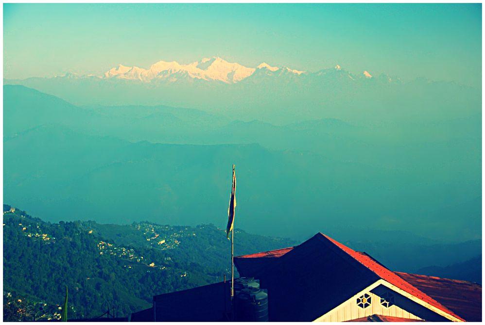 Beauty of Kangchenjunga