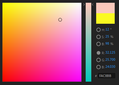 This is how I see my color selector