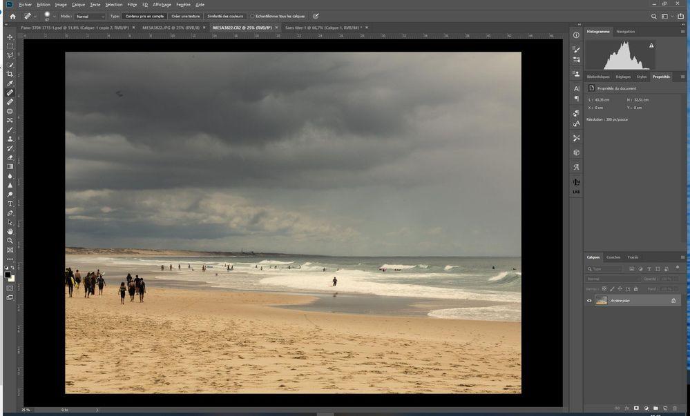 Affichage RAW (CR2) dans PhotoshopCC