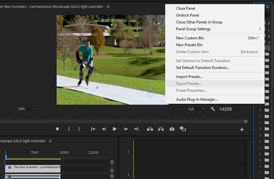 CC2018 win10 Export effect settings.jpg