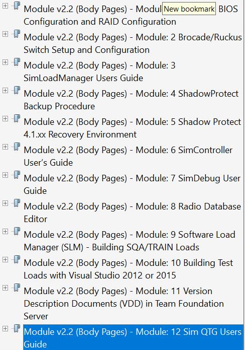 Bookmark for Module 1 PDF