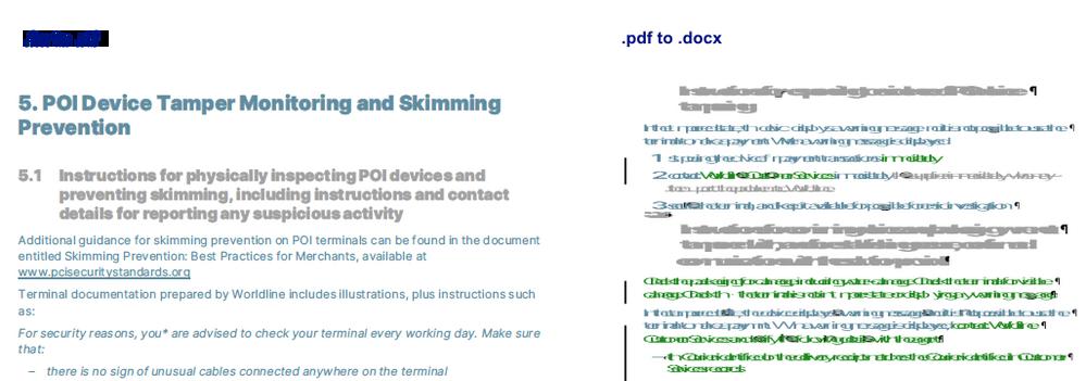 .fm to .rtf next to .pdf to .doc – FM wins hands down