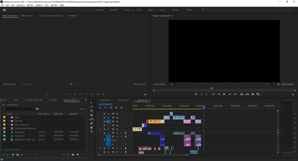 Screenshot 2 - Project Untitled