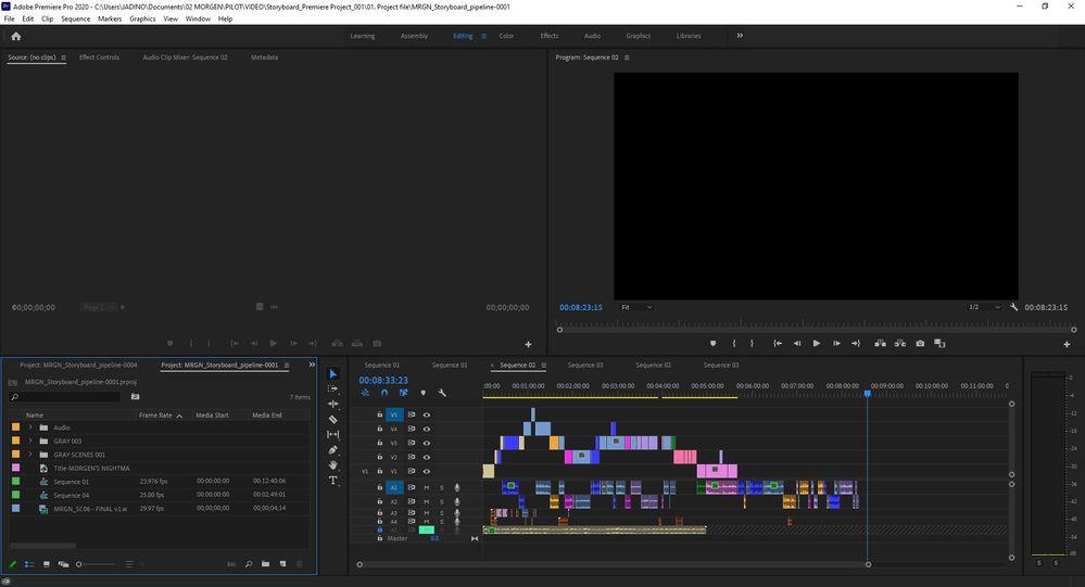 Screenshot 3 - File version 004 & 1