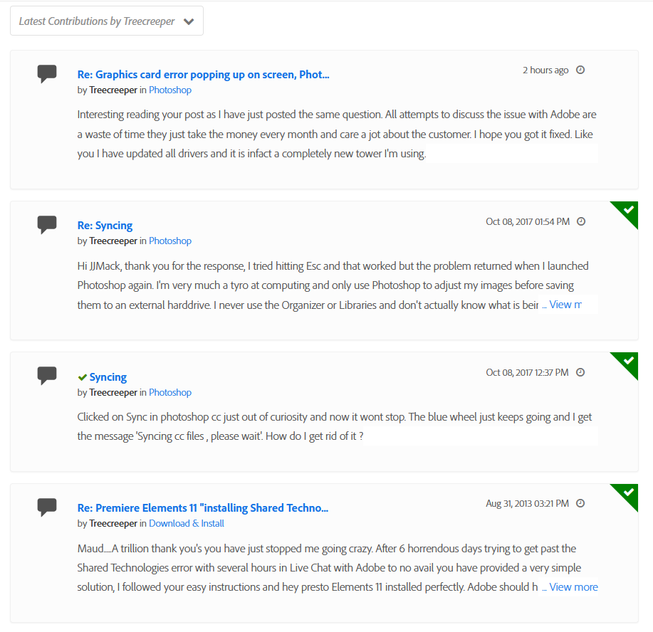 2020-08-23 15_51_50-About Treecreeper - Adobe Support Community.png