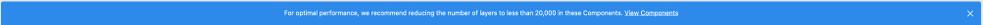 Alert on file load