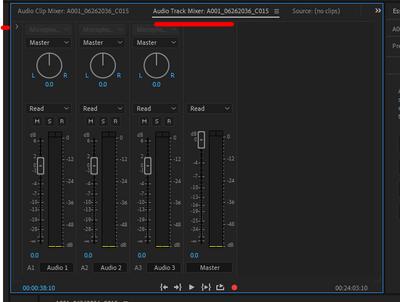 Audio. Trrack Mixer Effects Arrow.PNG
