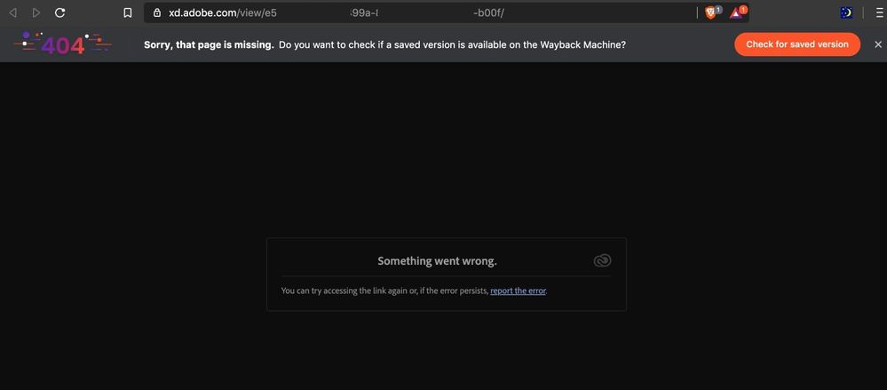 Cannot access from desktop