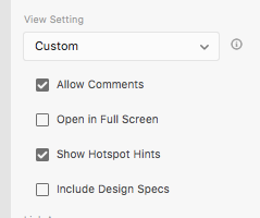 custom set different features of link