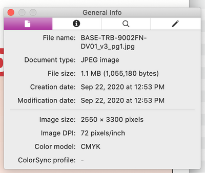 Image Size in Preview and non-Adobe products