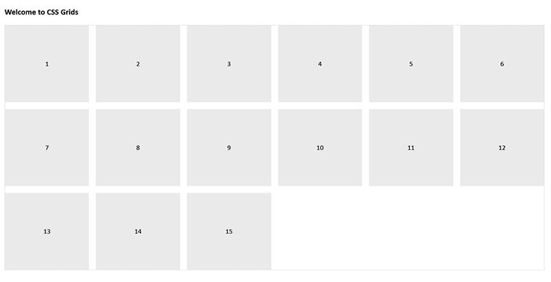 CSS Grids on Desktop
