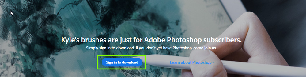 2020-10-04 14_46_00-Adobe Photoshop _ Download exclusive brushes from Kyle T. Webster.png